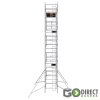 GDA500-DW Mobile Scaffold Tower-9M platform height (11M working height)-2m Long