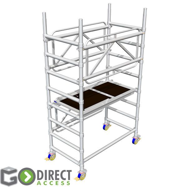 GDA400 Self Build Scaffold Tower-1M platform height (3M working height)