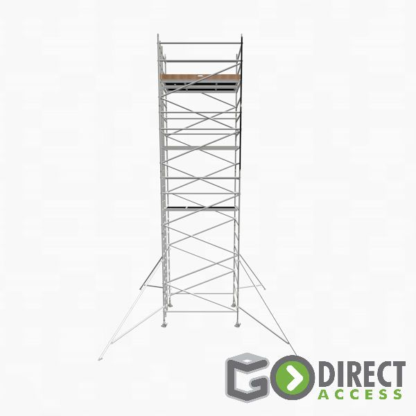 GDA500-DW Mobile Scaffold Tower-8M platform height (10M working height)