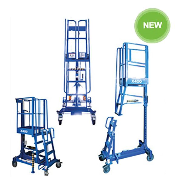 Powered Adjustable Work Platform X400WS (Stabilisers Included)