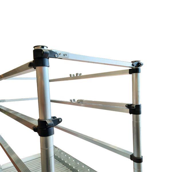 Scaffolding Ladder Guardrail open