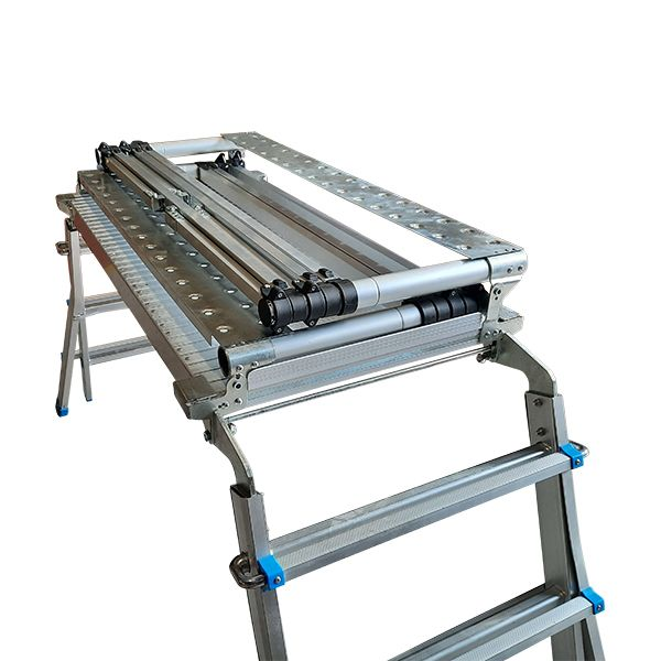 Scaffold Ladder bottom extended top folded down