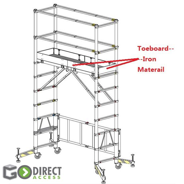 GDA Telescopic Scaffold Tower 2m