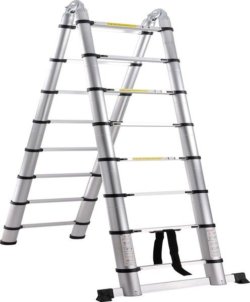 Aluminium Telescopic Ladder - Double Sided