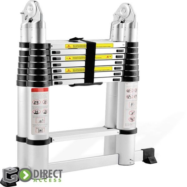 Telescopic Ladder - Double Sided-3.2M