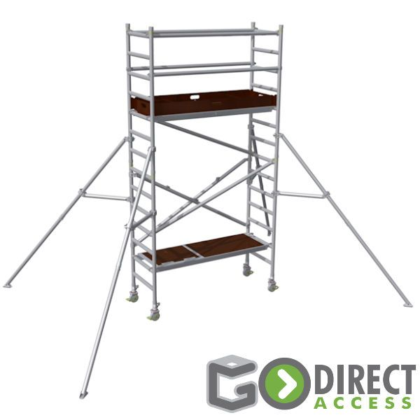 GDA300 Trade Scaffold Tower-2.6M platform height (4.6M working height)