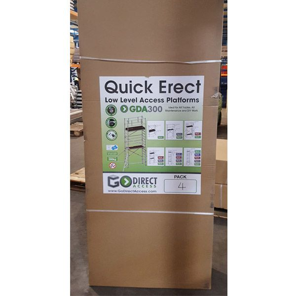 GDA300 Scaffold Tower Extension Pack 4
