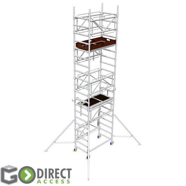 GDA400 Self Build Scaffold Tower-4M platform height (6M working height)