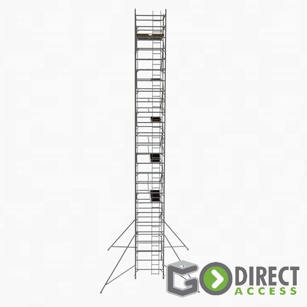 GDA500-DW Mobile Scaffold Tower-12M platform height (14M working height)