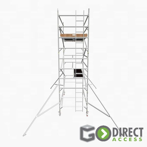 GDA500-DW Mobile Scaffold Tower-4M platform height (6M working height)