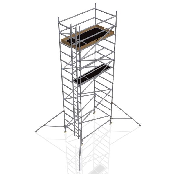 GDA500-DW Mobile Scaffold Tower-6M platform height (8M working height)