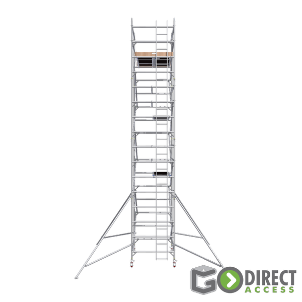 GDA500-DW Mobile Scaffold Tower-7M platform height (9M working height)-2m Long