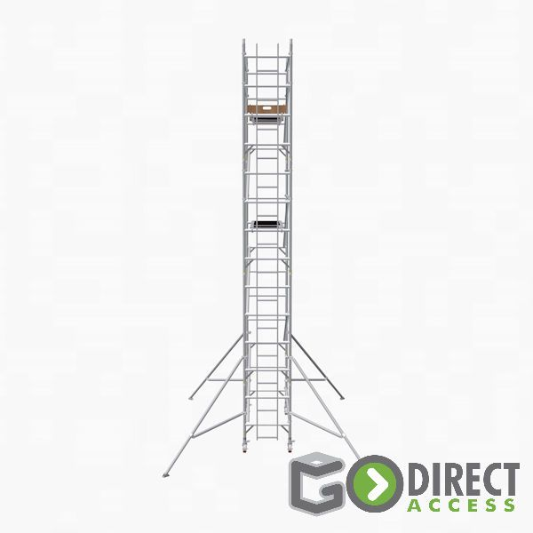 GDA500-SW Mobile Scaffold Tower-6M platform height (8M working height)