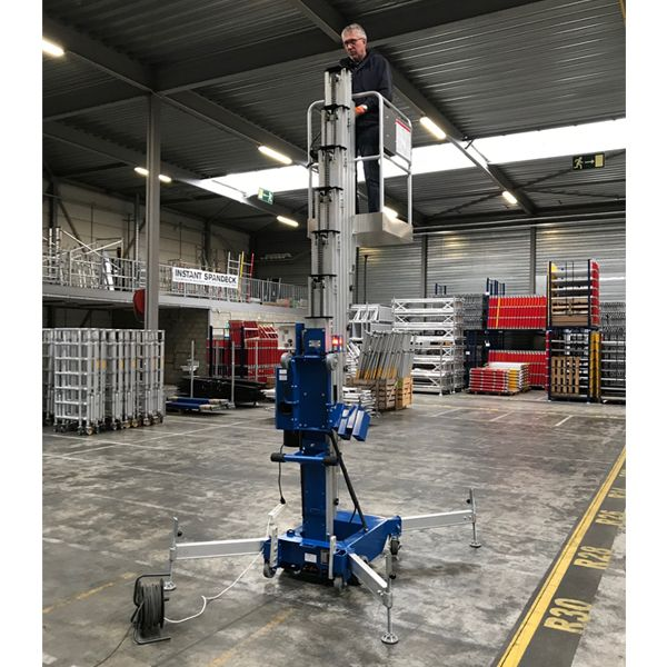 ML3330 Mast Lift AC/DC Working Height 12m