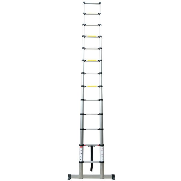 Telescopic Ladder 3.2M Soft Close with Stabilising Leg & Bag