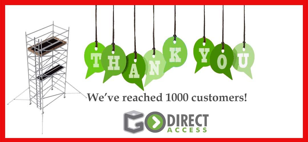 1000th customer