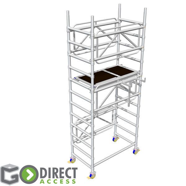 GDA400 Self Build Scaffold Tower-2M platform height (4M working height)