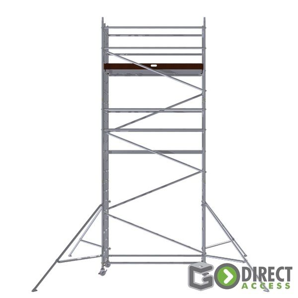 GDA500-SW Mobile Scaffold Tower-5M platform height (7M working height)