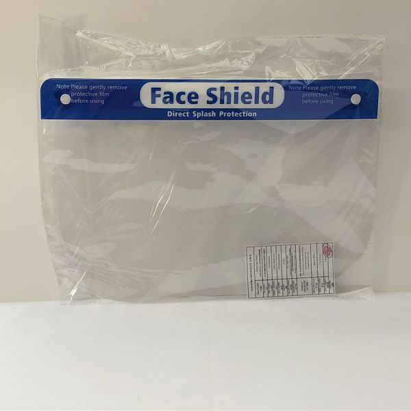 Plastic Face Shields - Pack of 10